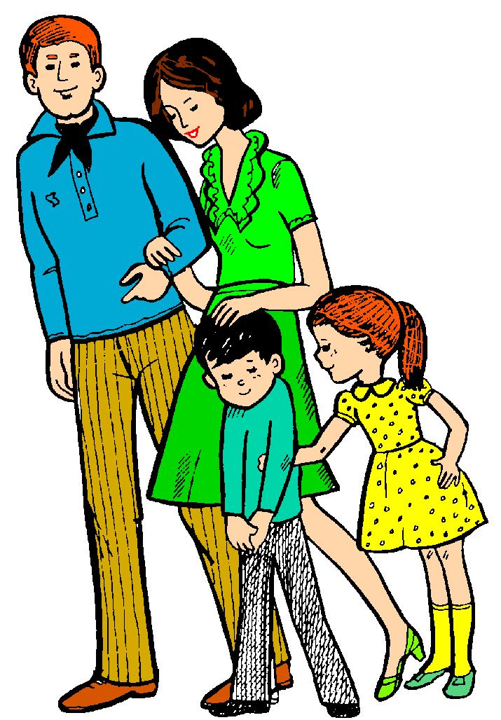 Заказ, картинки анимация семьи