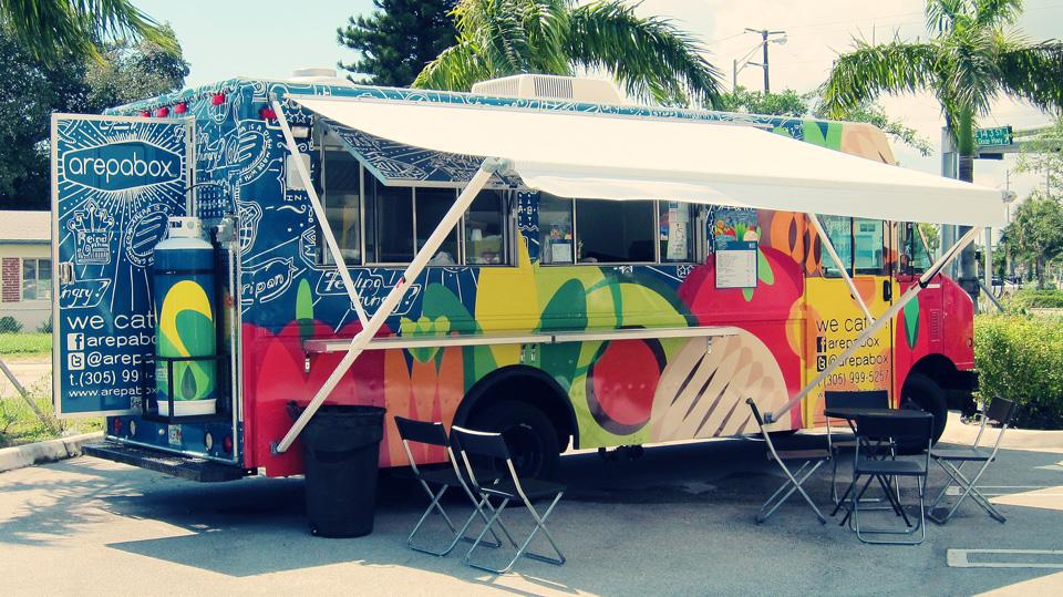 food truck arepabox