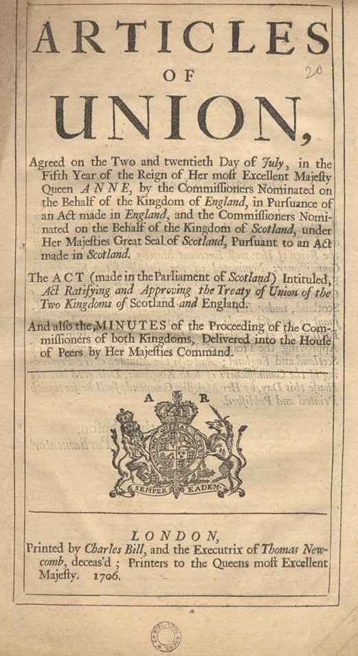 1 May 1707