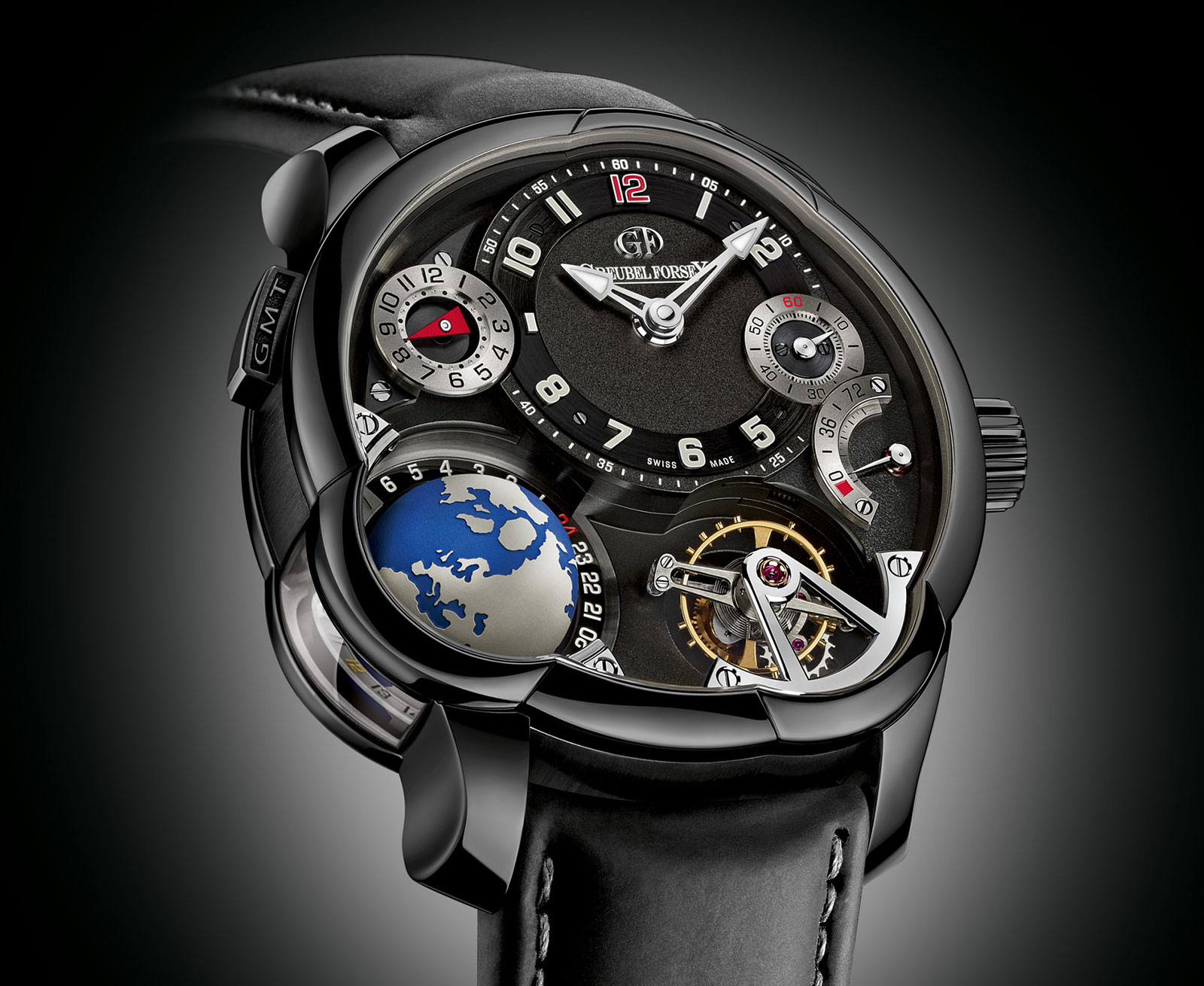 Greubel Forsey Black GMT