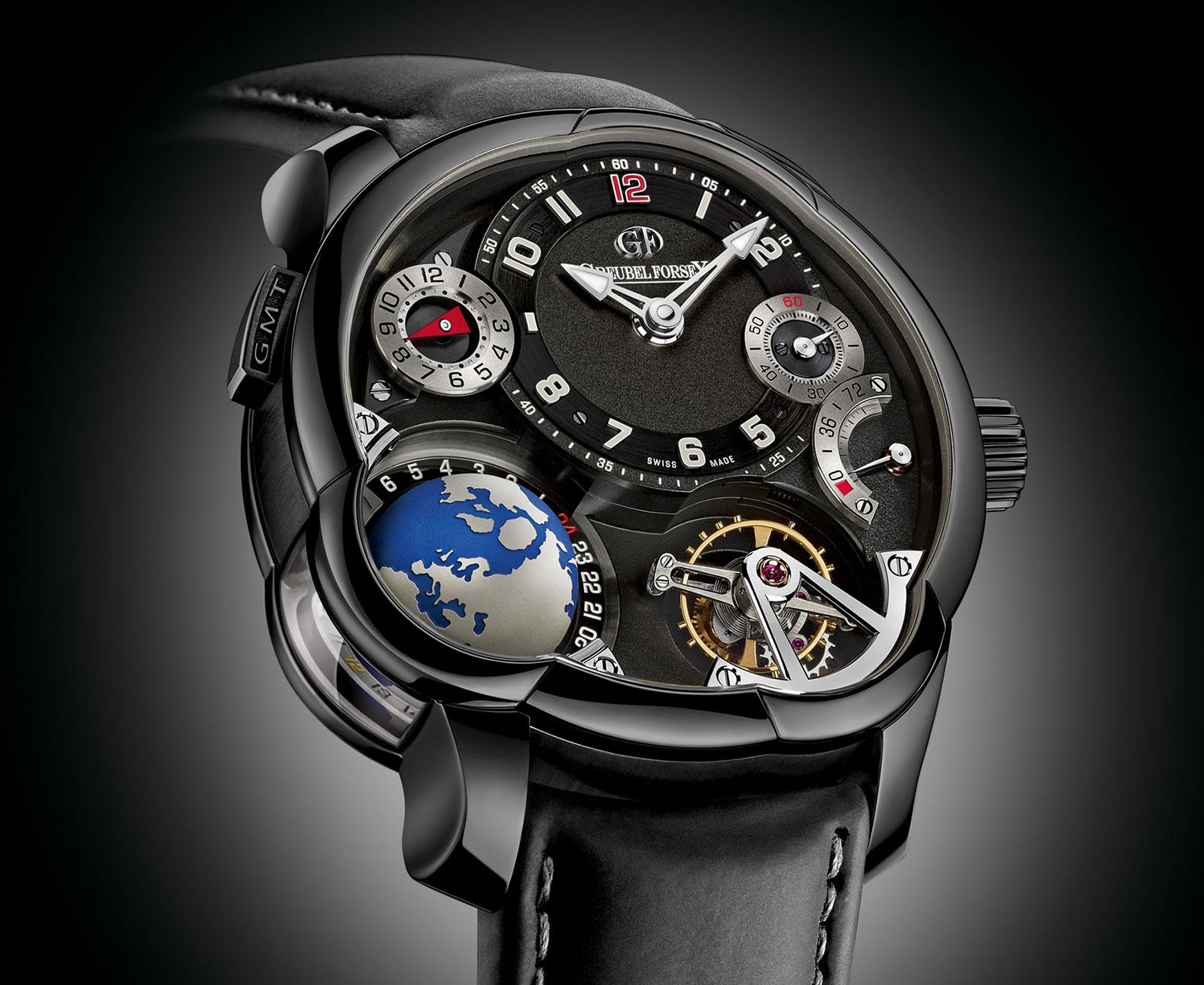 Greubel Forsey Black GMT