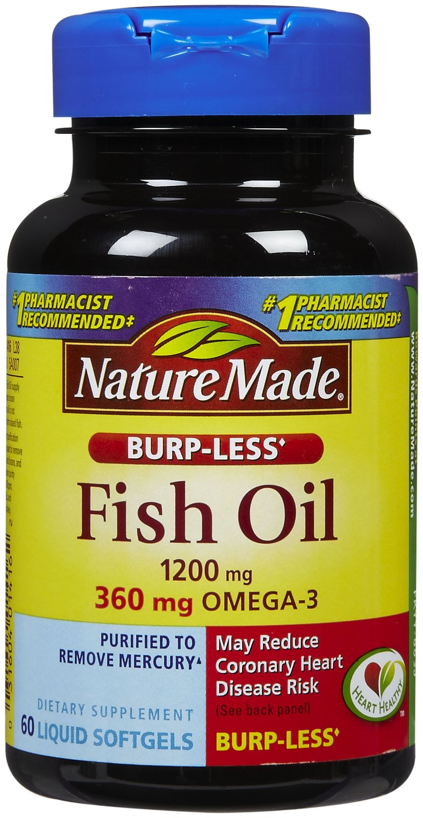 Top 10 best fish oil supplements currently for Best fish oil capsules