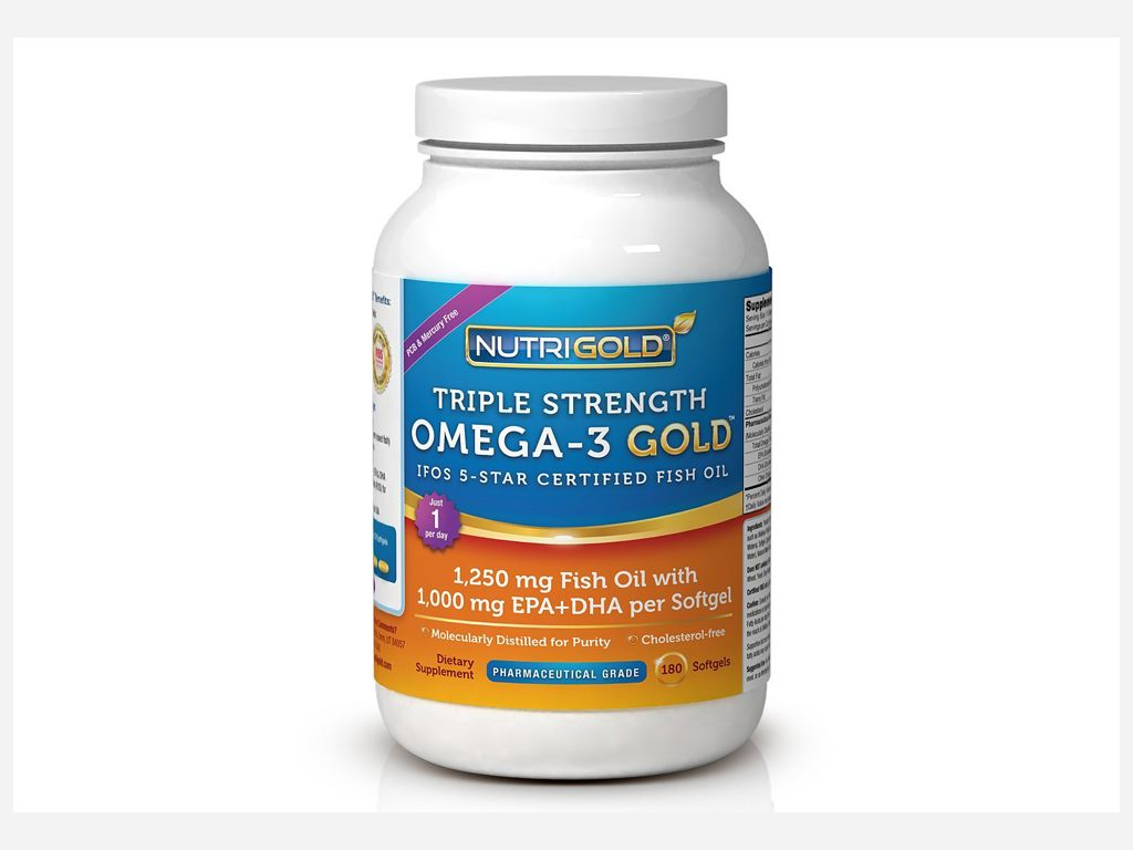 Nutrigold Triple Strength Omega-3 Gold