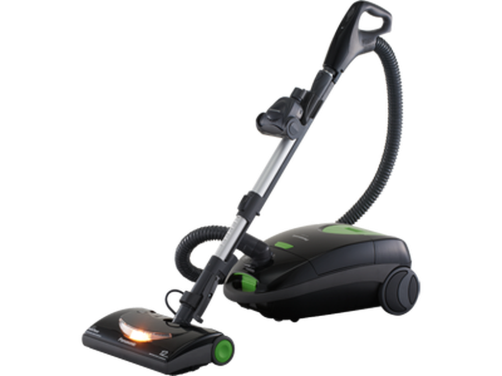 "Panasonic MC-CG917 ""OptiFlow"" Bag Canister Vacuum Cleaner."