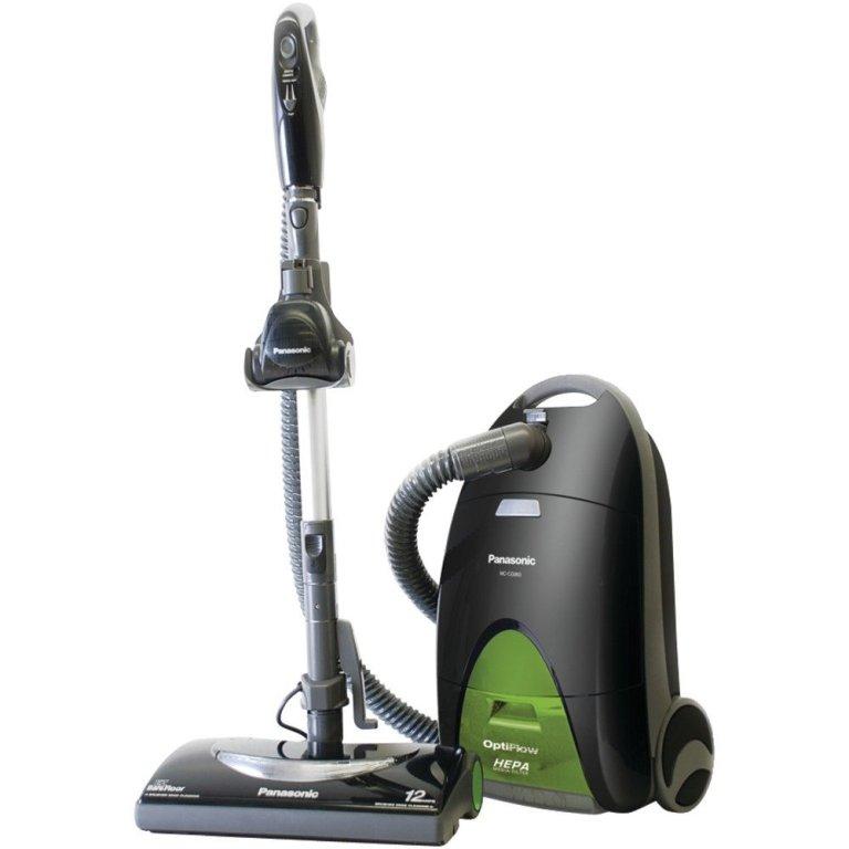 """Panasonic MC-CG917 """"OptiFlow"""" Bag Canister Vacuum Cleaner"""