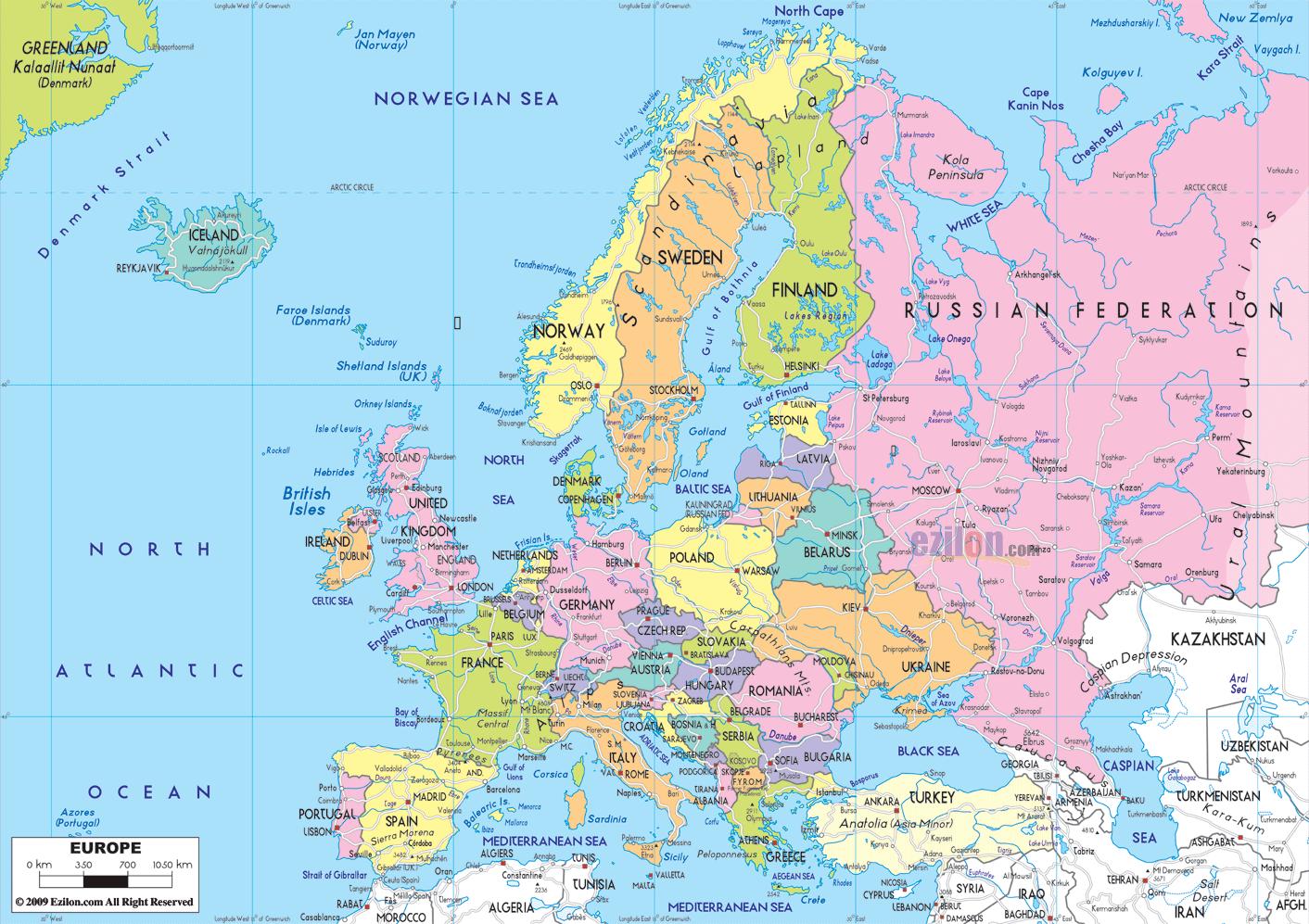 The politics of Europe