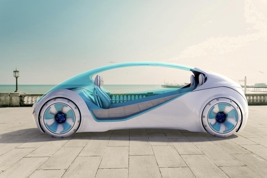 3D printed cars.