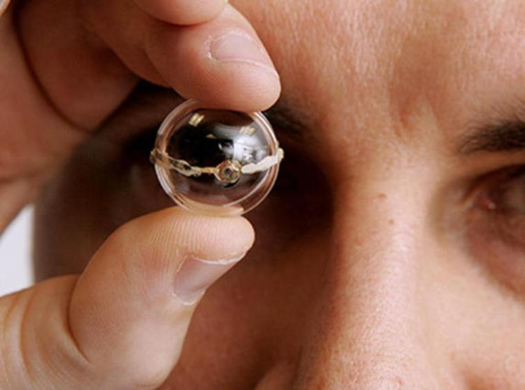 3D printed contact lenses