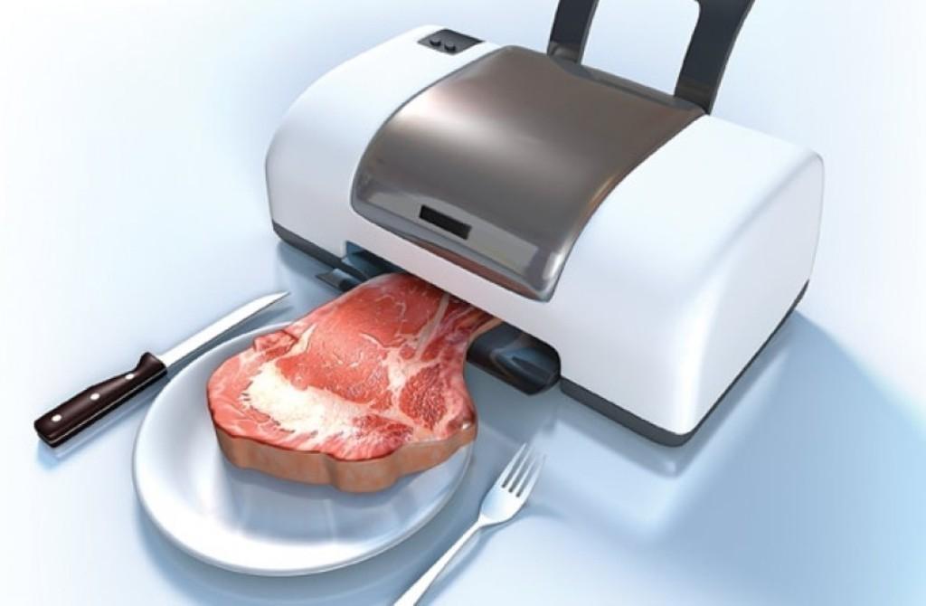 3D printed meat