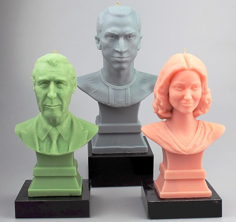3D printed selfies