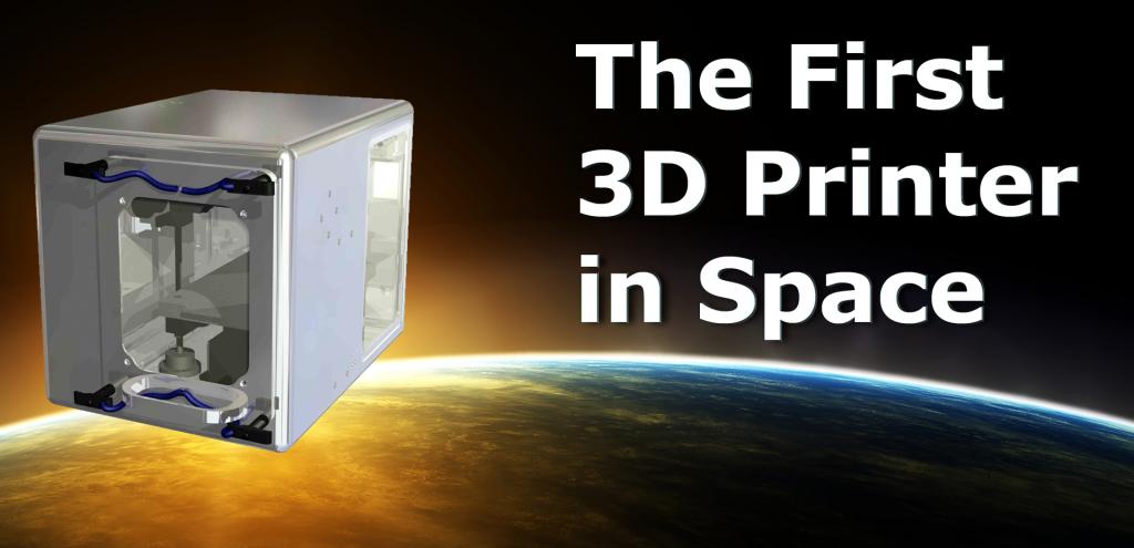 3D printers in space