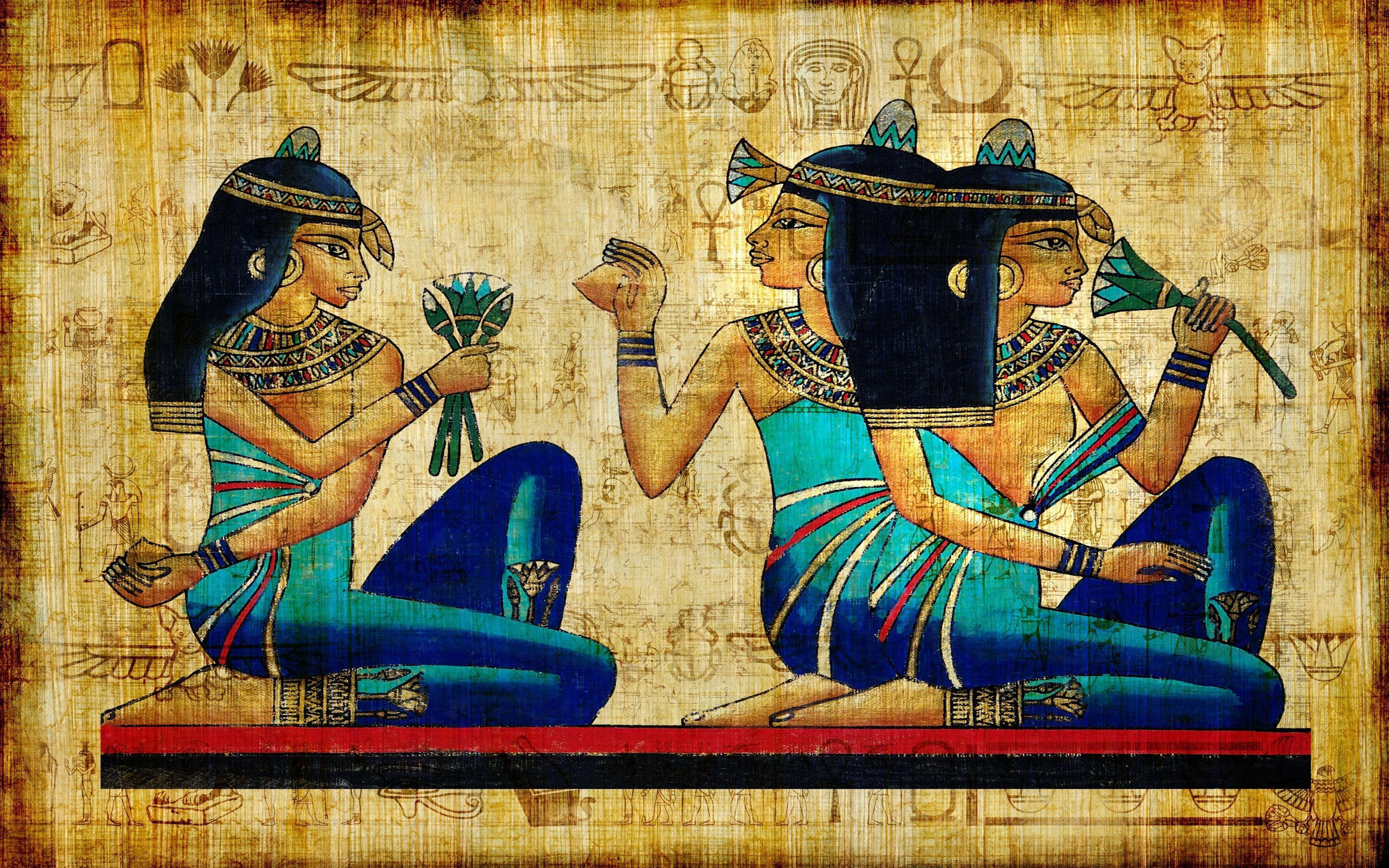 Ancient-Egypt-Drawing-Art