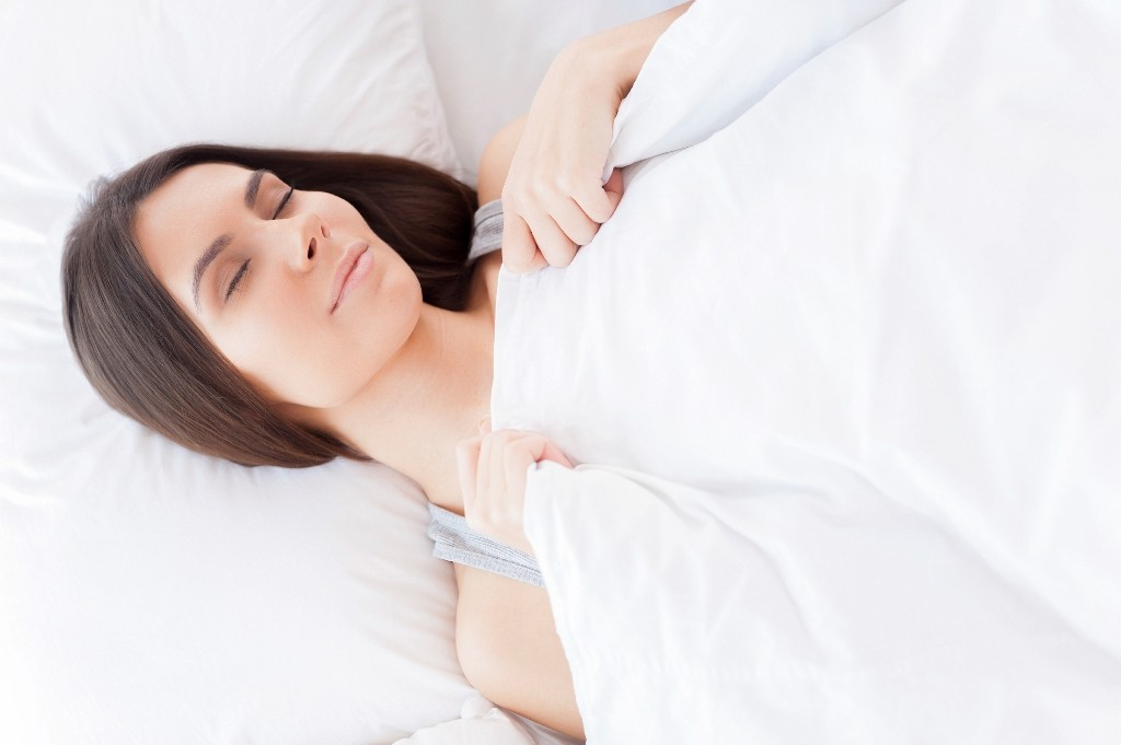 Avoid sleeping on your side