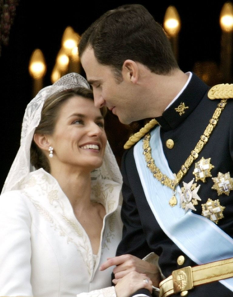 Crown Prince Felipe of Asturias, Spain & Letizia Ortiz Rocasolano .