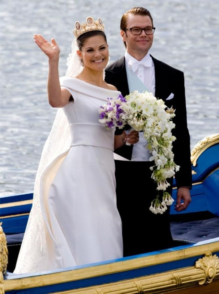 Crown Princess Victoria of Sweden & Daniel Wrestling