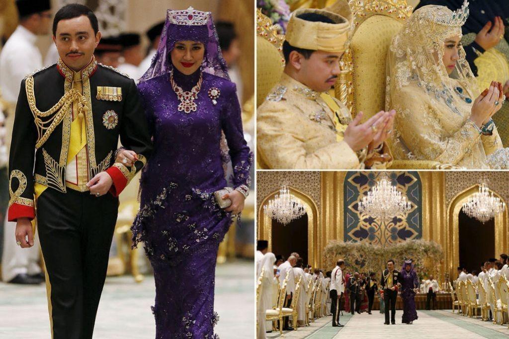 Prince Abdul Malik & Dayangku Raabi atul  Adawiyyah Pengiran Haji Bolkiah