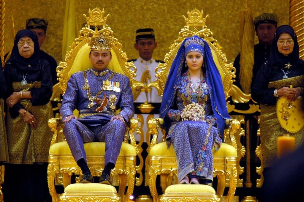 Prince Al-Muhtadee Billah of Brunei & Sarah Salleh