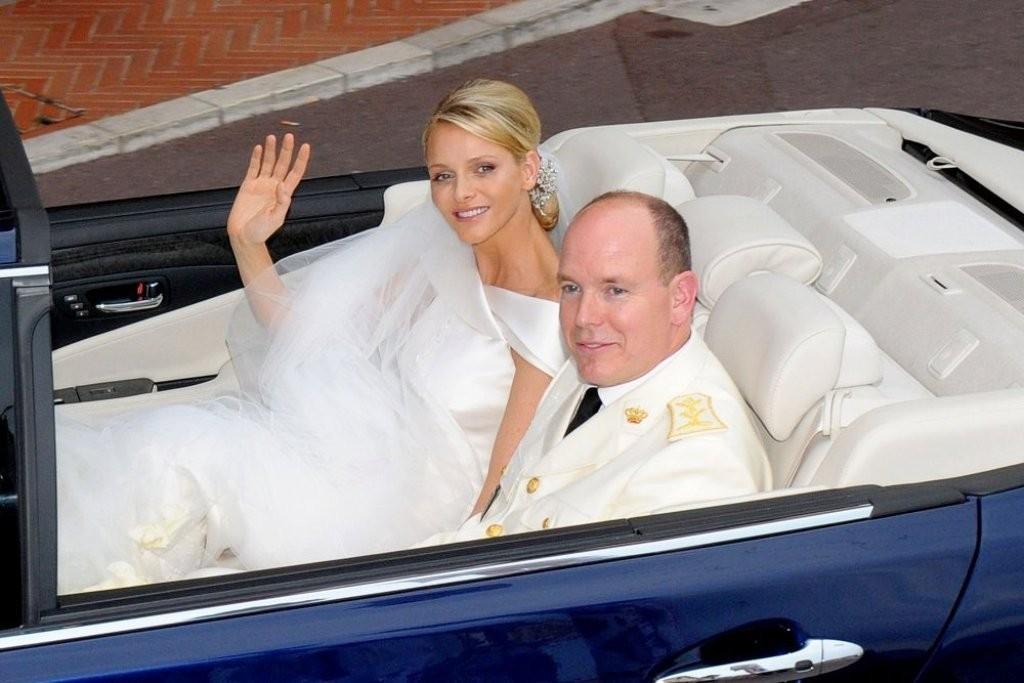 Prince Albert II & Charlene Wittstock .