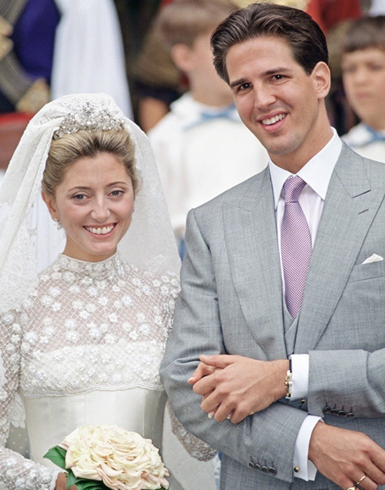 Prince Pavlos of Greece & Marie-Chantal Miller .