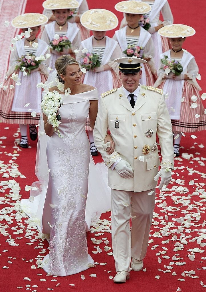 Princess Charlene Monaco & Prince Albert Wedding