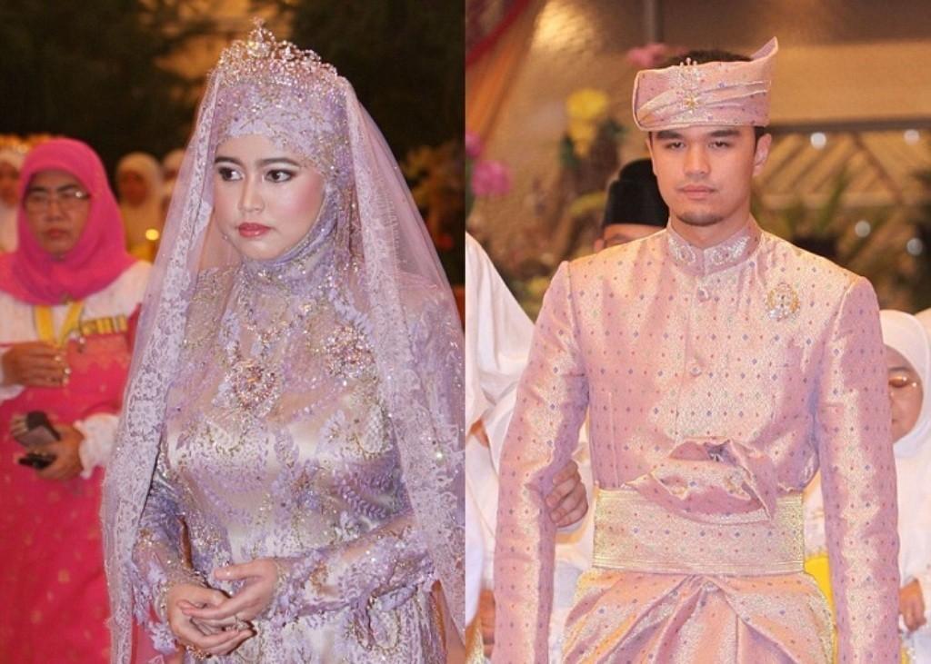 Princess Hajah Hafiza Sururul Bolkiah & Pengiran Haji Muhammad Ruzaini .