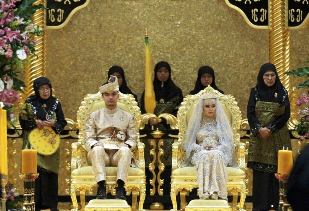 Princess Hajah Hafiza Sururul Bolkiah & Pengiran Haji Muhammad Ruzaini
