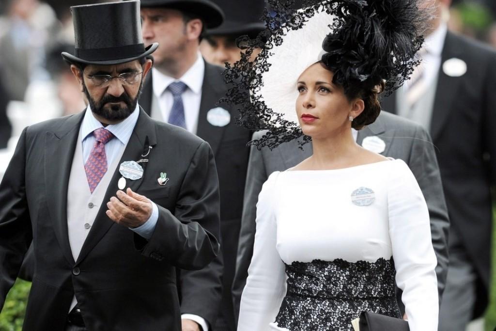 Sheikh Mohammed Bin Rashid al Maktoum & Princess Haya Bint Al Hussein..