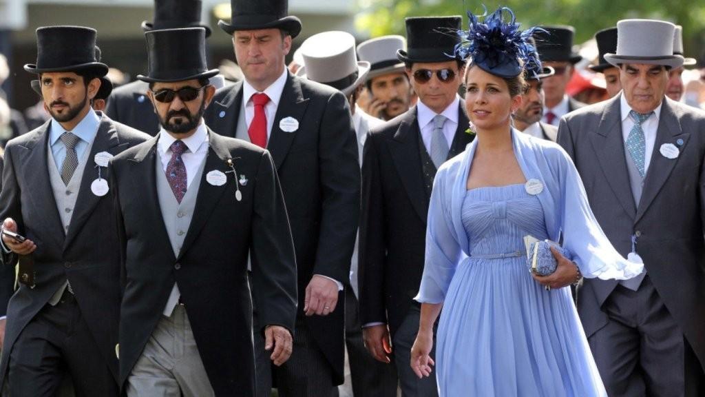 Sheikh Mohammed Bin Rashid al Maktoum & Princess Haya Bint Al Hussein.