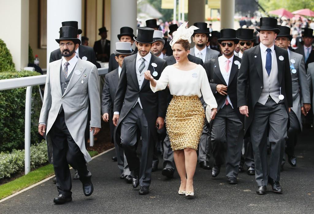 Sheikh Mohammed Bin Rashid al Maktoum & Princess Haya Bint Al Hussein