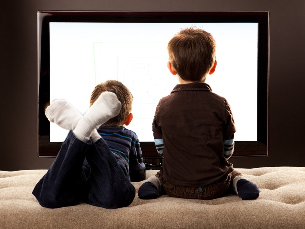 Brother's Watching TV