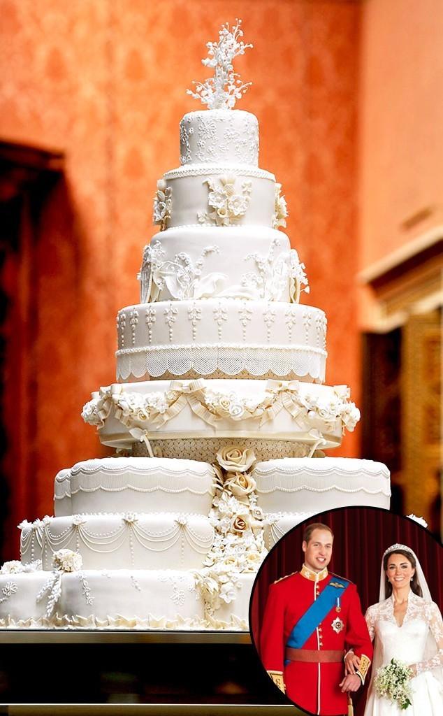 William and Kate wedding cake