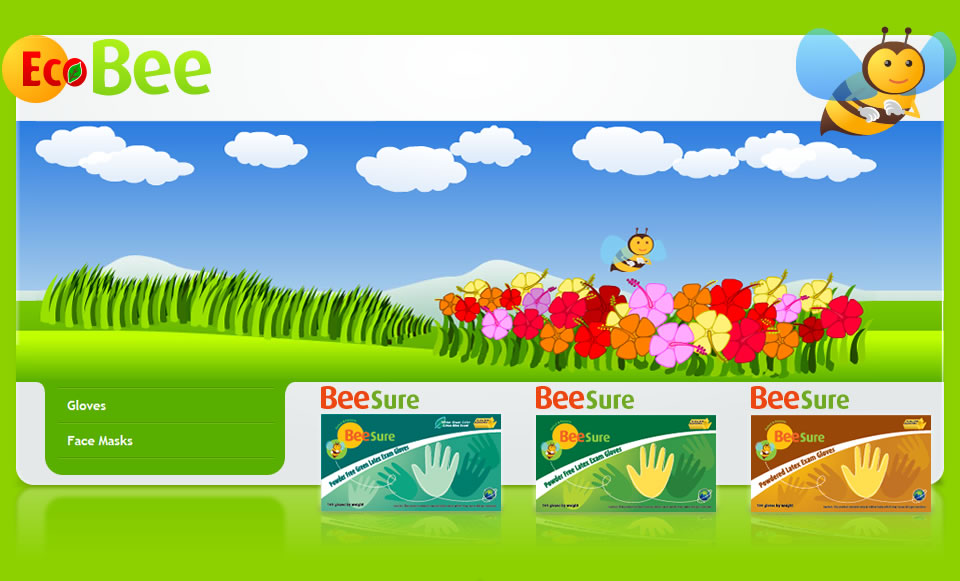 ecobee-gloves-website-design-header