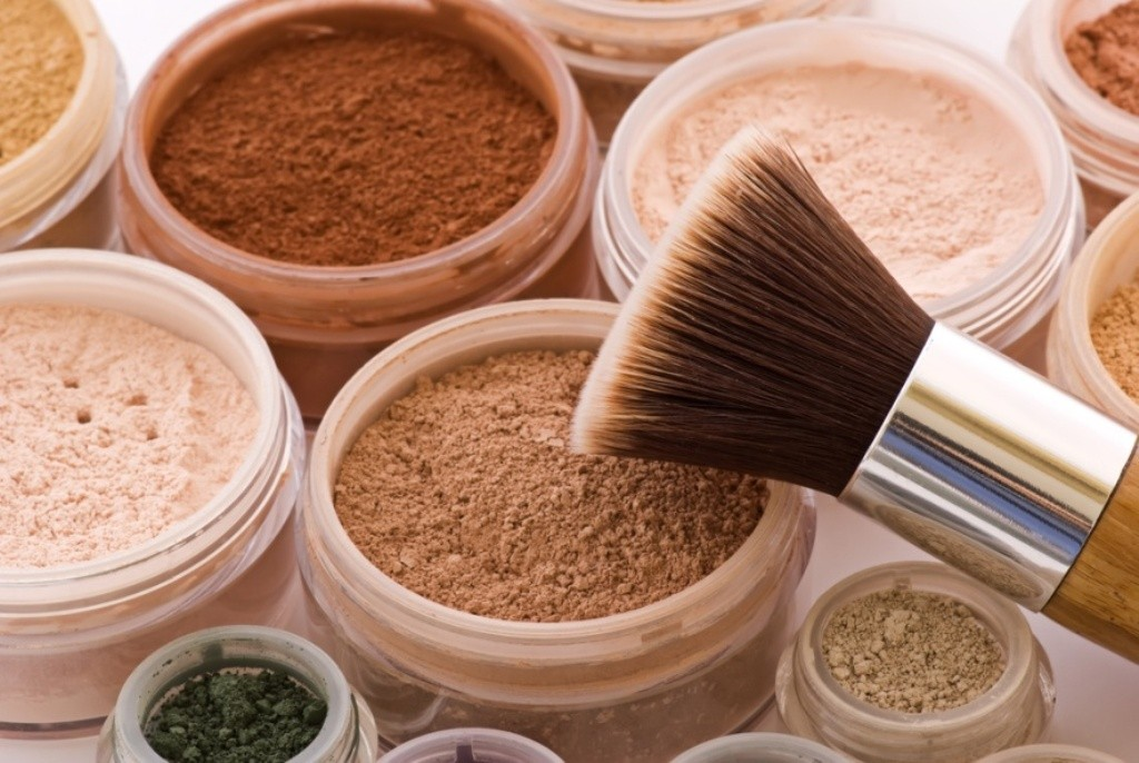 mineral-based make-up