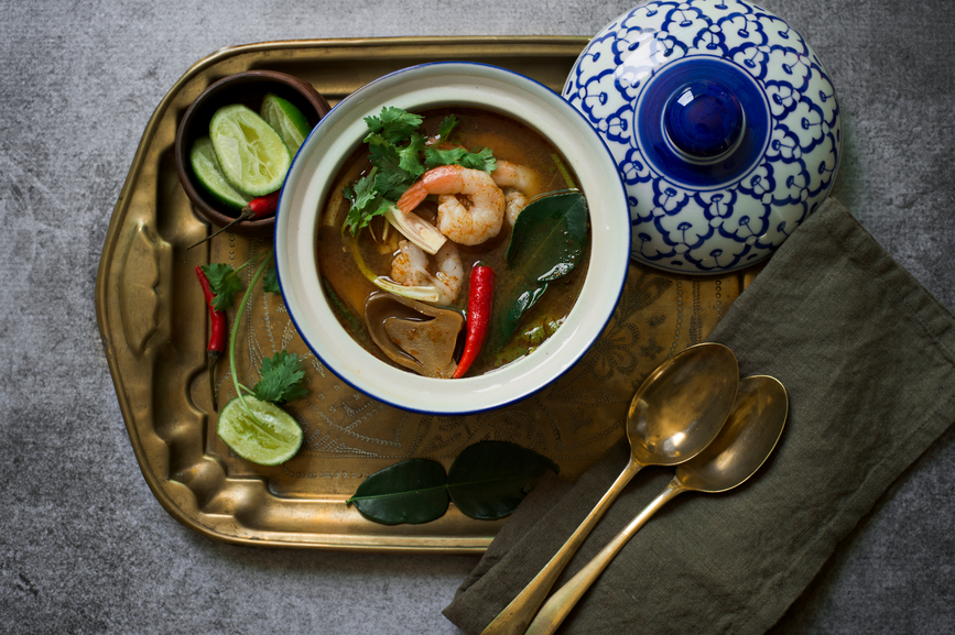 Spicy Thai Tom Yam
