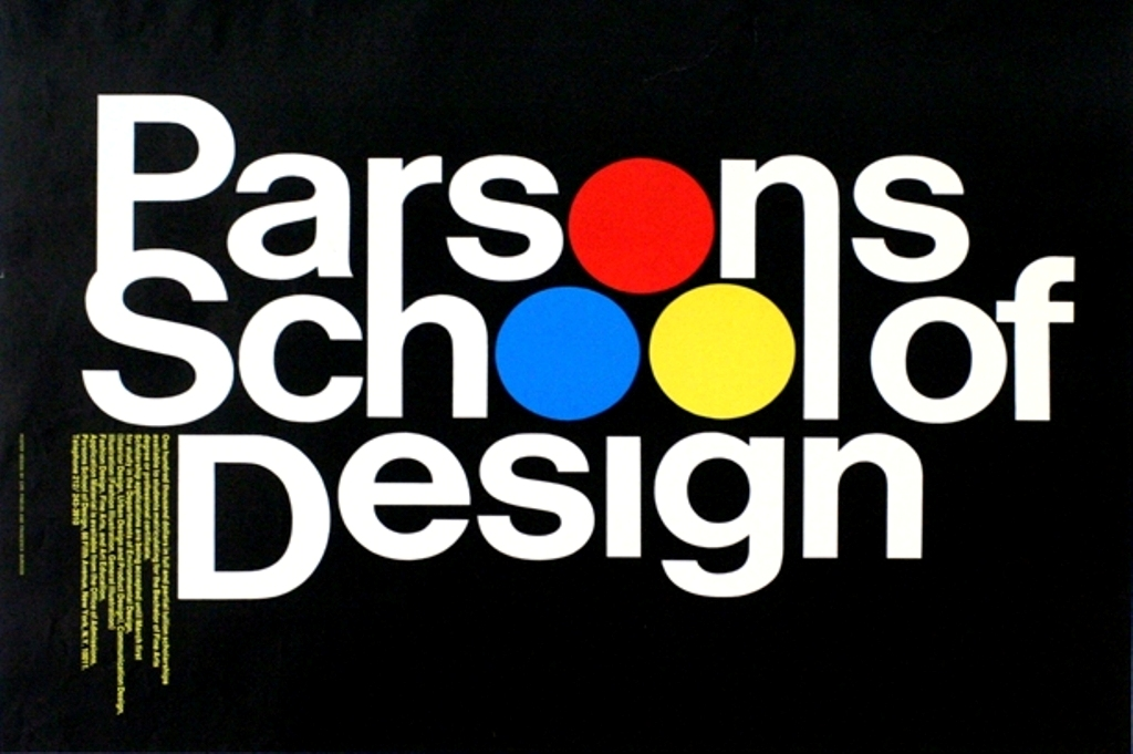 Parsons the New School for Design 1