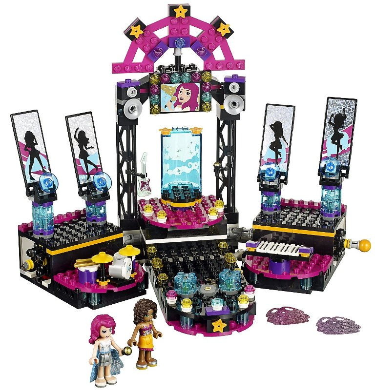 LEGO Friends 41105 Pop Star Show Stage Building Kit