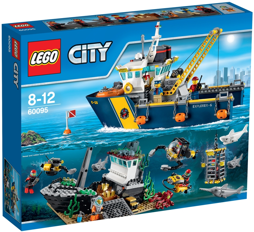 Lego City Deep Sea Exploration Vessel