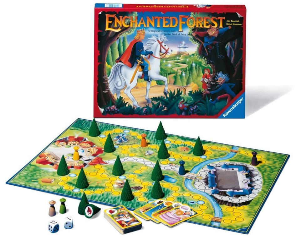 Ravensburger Enchanted Forest - Family Game