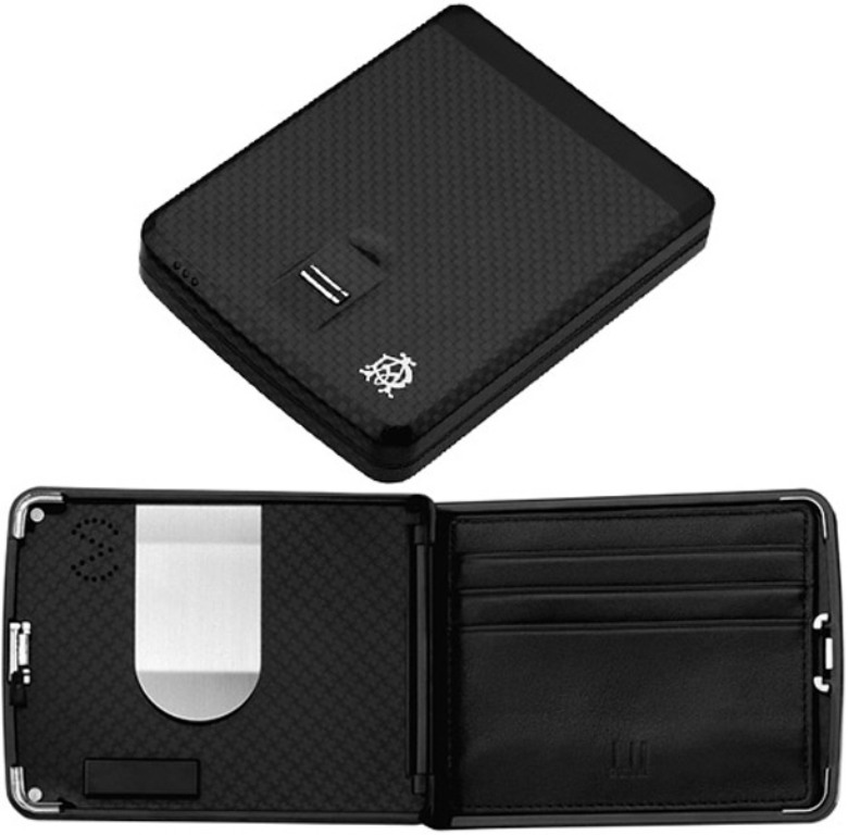 Biometric wallet that opens with your fingerprint for more safety