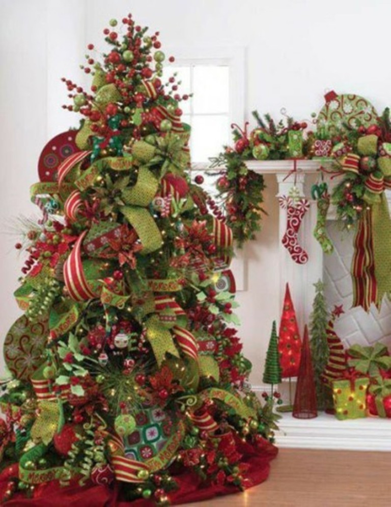 christmas tree decorating ideas (17)