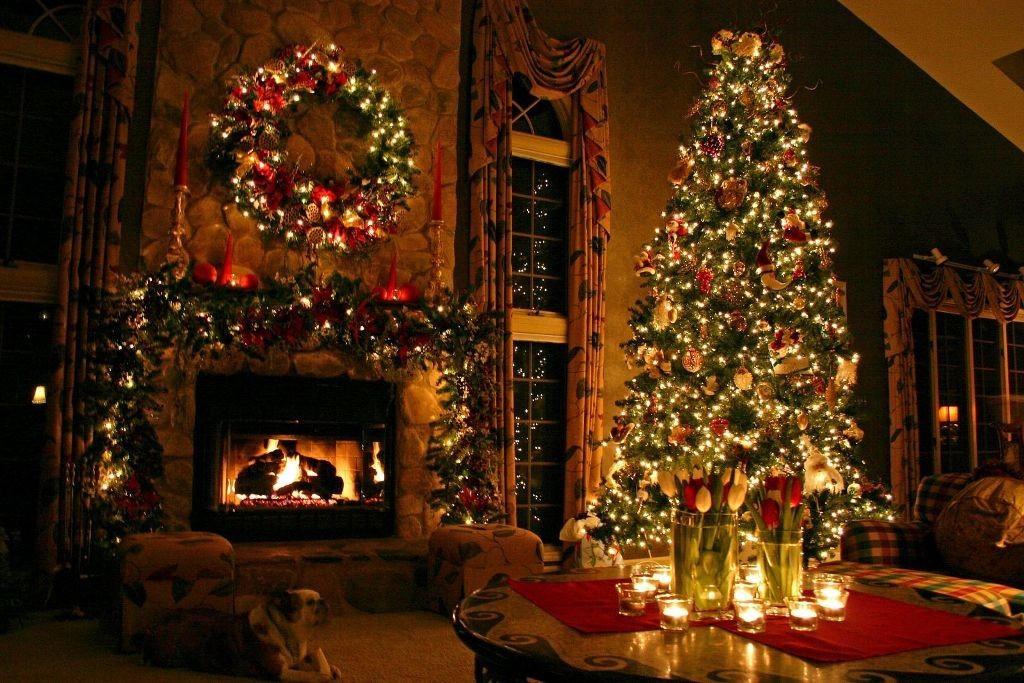 fireplace mantel decoration (2)