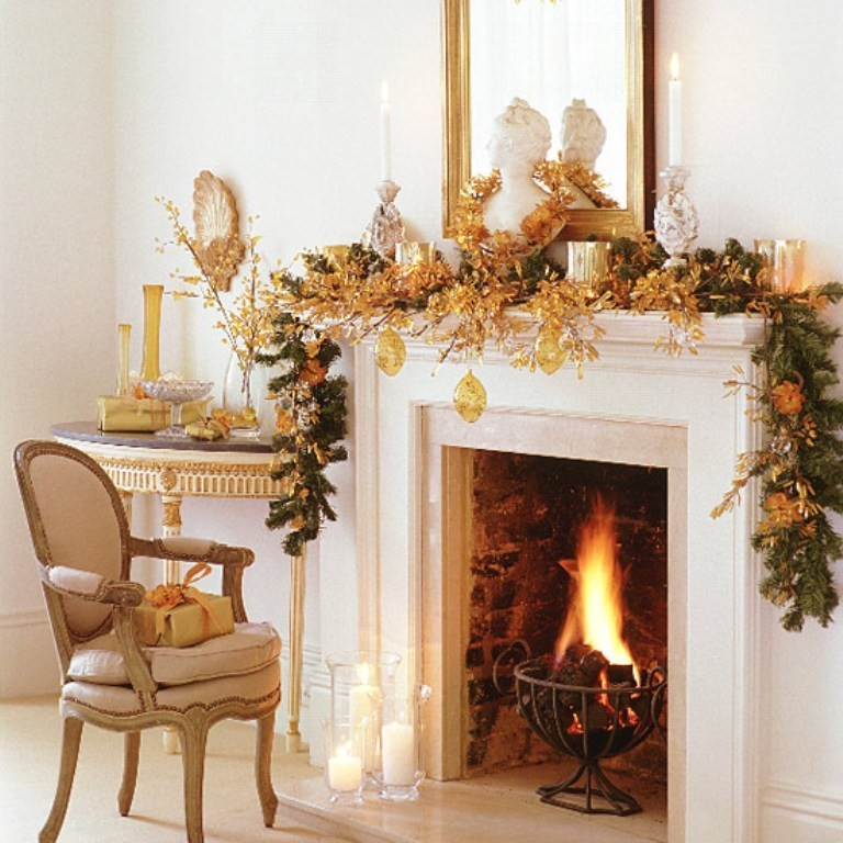 fireplace mantel decoration (3)