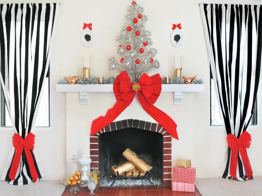 fireplace mantel decoration (5)