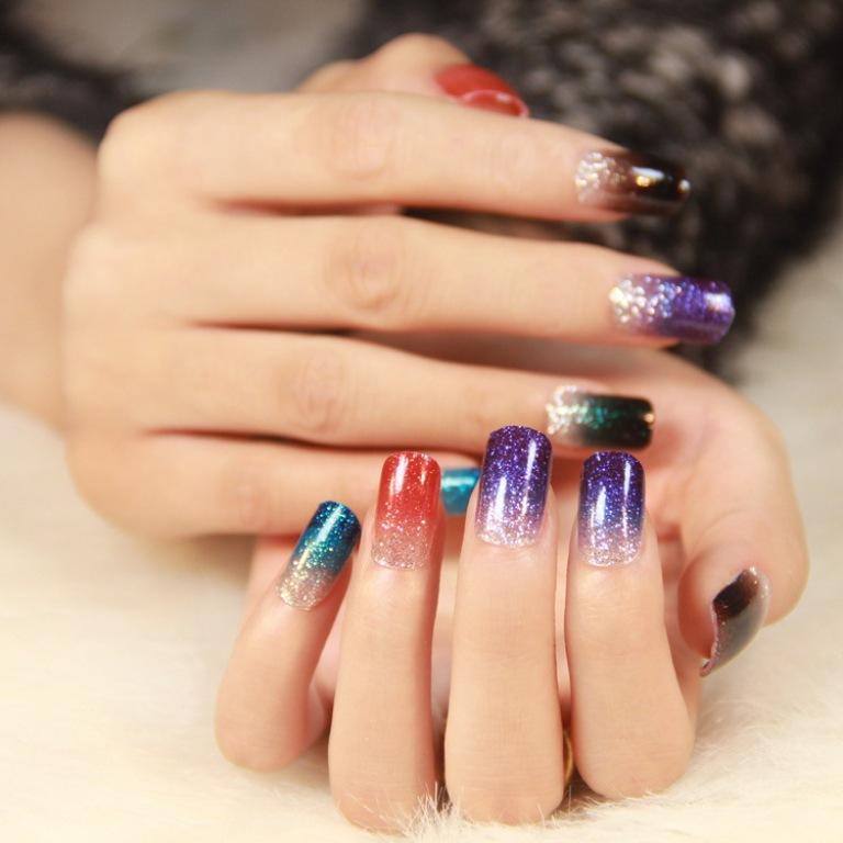 glitter nails (4)