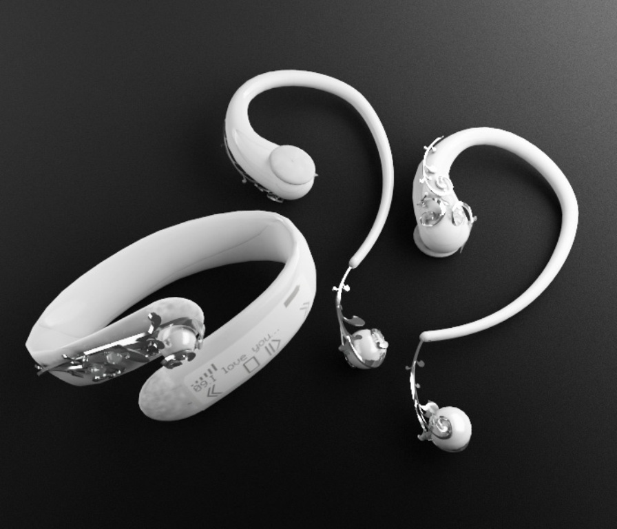 jewelery headphones