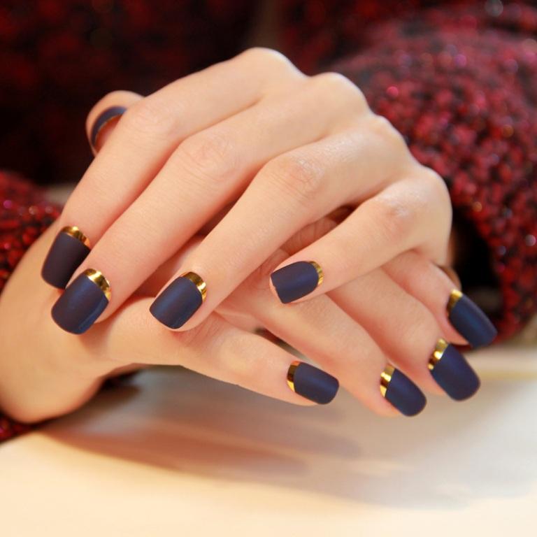 matte nails (4)