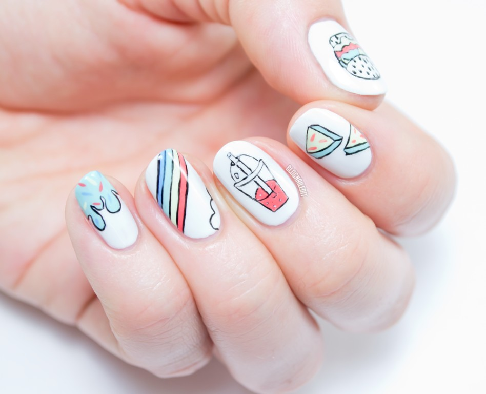 short and rounded nails (2)