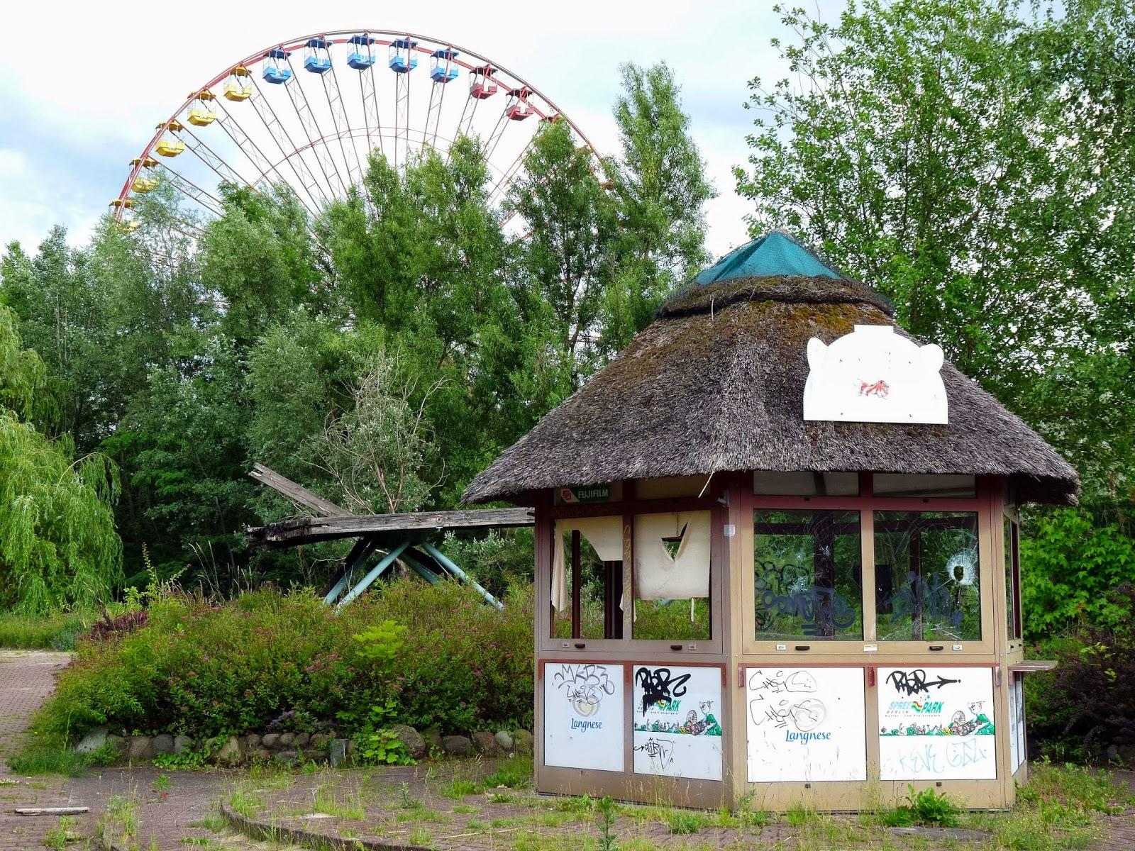 Abandoned Berlin Spreepark Amusement Fun Park-1020058