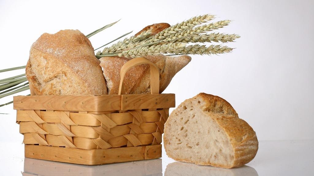 Banging bread against walls