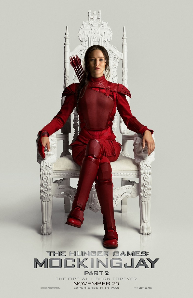 Katniss-in-Red-The-Hunger-Games-Mockingjay-Part-2-Poster